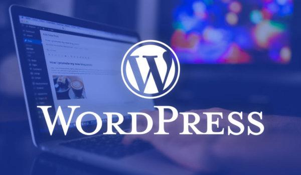 web up siti wordpress