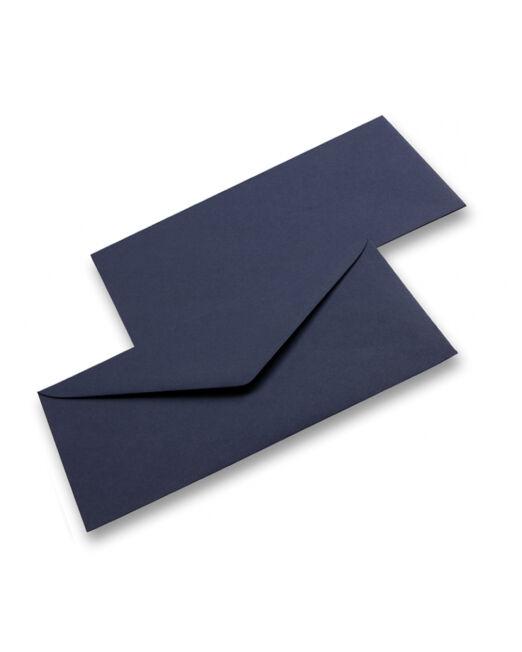 busta da lettera color blu notte
